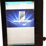 id-me beveiligt zakelijke tablets met vingerafdrukidentificatie